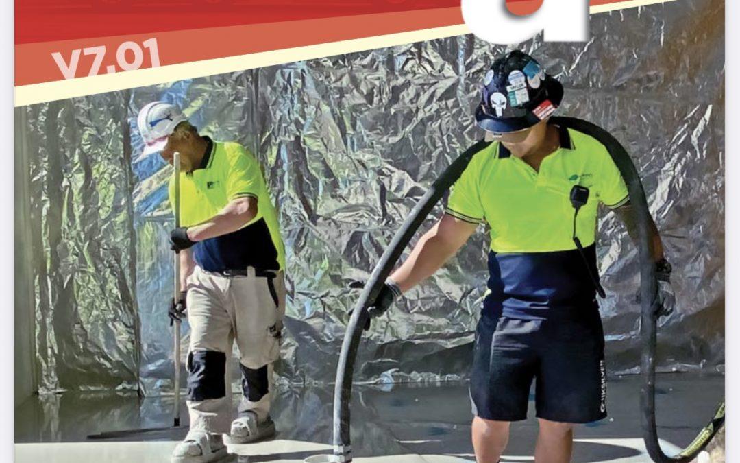 AllPrep Flooring & LATICRETE® SUPERCAP® system featured in Construction Engineering Australia Magazine!